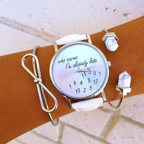 relojes moda europea mayoreo geneva  hermosos precio wow