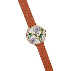 Relojes Mujer Analógico Con Flores Isadora