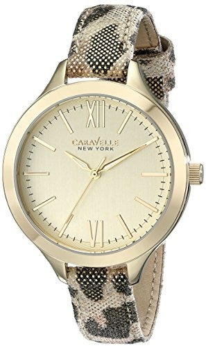 relojes mujer pantalla caravelle nueva york 44l161 analo 182