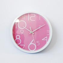 Reloj Mural Morph Diseño Bloom Rosa