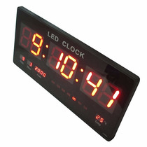 Reloj De Pared Digital Led Grande , Grenelectronic Chile