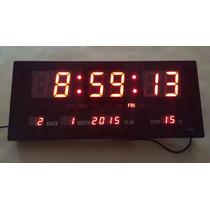 Reloj De Pared Digital Led , Grenelectronic Chile