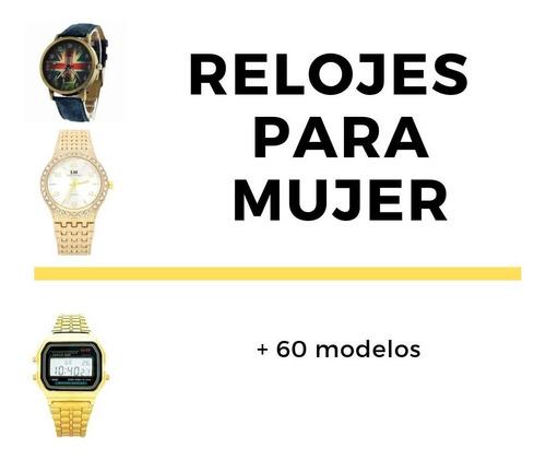 relojes nuevos mujer dama precio mayoreo moda tu negocio