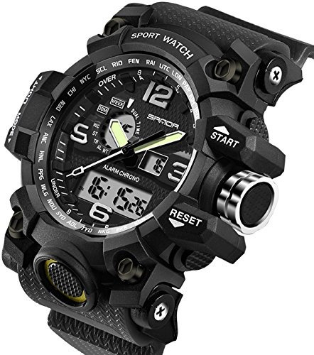 Relojes Para Hombre Deportes Militares Electronic Waterproof