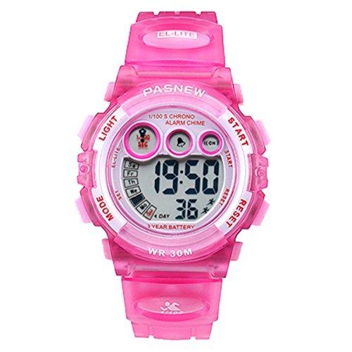 90315966be4e Relojes Para Ninos Deportes Digitales Led 30m Reloj De Pulse ...