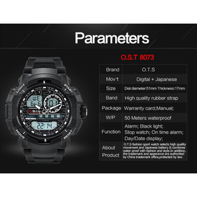 1d462dd74b95 Reloj Dziner 3478 Relojes Casio - Relojes Pulsera Masculinos Skmei ...