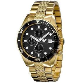 2097105cc753 Reloj Emporio Armani Cronografo De Acero Relojes - Joyas y Relojes en  Mercado Libre Perú