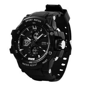 f27c093a0b29 Reloj Digital Kebo Colores Negro Blanco Relojes - Relojes Pulsera ...