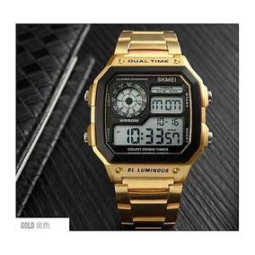 8b2ca6c480d1 Reloj Acero Color Dorado - Relojes Pulsera Masculinos Skmei en ...