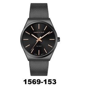 Dama Agente Reloj Knock 153 Oficial Metal Out 1569 Negro rhtCxsBQdo