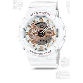 ef7c35a76568 G Shock Blanco Y Dorado Relojes Casio - Joyas y Relojes en Mercado Libre  Perú