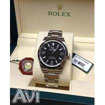 Reloj Rolex Explorer Plateado