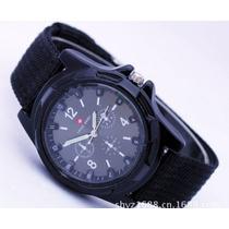 Reloj De Pulsera Gemius Army Negro