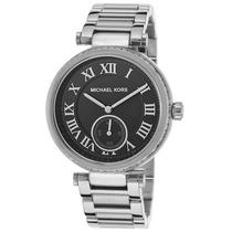 Reloj Michael Kors Mk6053 Es Skylar Stainless Steel Black