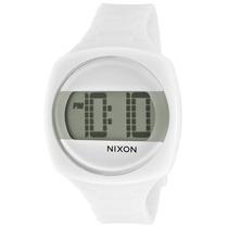 Reloj Nixon Es Dash White Polyurethane Grey Dial - Unisex