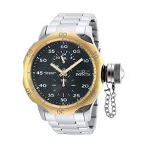 Reloj Invicta 19279 Es Russian Diver Stainless Steel Black