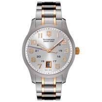 Reloj Luxury Victorinox Swiss Army 241324 Alliance Silver