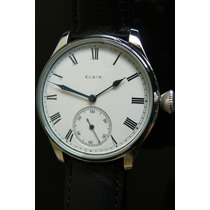 Exclusivo Reloj Elgin Año 1907 Mecanico Unico 43mm Porcelana