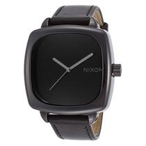 Reloj Nixon Es Ceramic Shutter Black Genuine Leather And