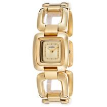 Reloj Nixon Es Sisi Gold-tone Steel Champagne Dial - Mujer