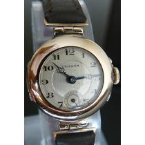 Reloj Antiguo Rolex Unicorn Oro Solido Suizo Cuerda Año 1920