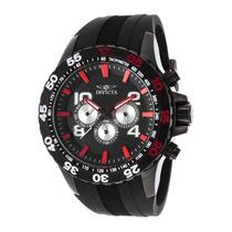 Reloj Invicta 20376syb Es Aviator Multi-function Black