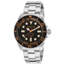 Reloj Invicta 20120 Es Pro Diver Stainless Steel Black Dial