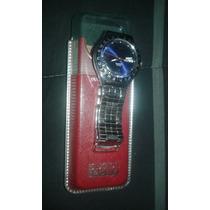Hermoso Reloj Swatch Irony De Metal, Calendario. Con Caja.