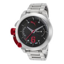Reloj Puma Pu103781004 Es Advance Stainless Steel Black