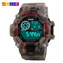 Reloj Militar Camuflaje Skmei Digital S - Shock Casio/timex