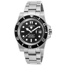 Reloj Legend 1002-11 Es Deep Blue Stainless Steel Black Dial