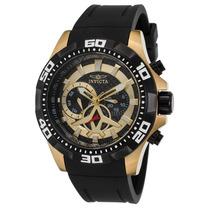 Reloj Invicta 21739 Es Aviator Multi-function Black