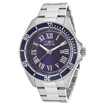 Reloj Invicta 14999 Es Pro Diver Stainless Steel Blue Dial