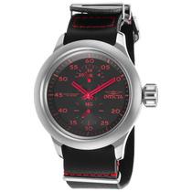 Reloj Invicta 19495 Es Russian Aviator Gmt Black Genuine