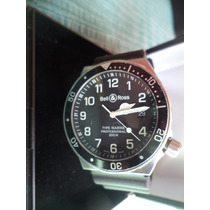 Reloj Bell&ross Type Marine Hombre Impecable