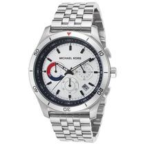 Reloj Michael Kors Mk8373 Es Outrigger Chrono Stainless