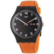 Reloj Swatch Suob709 Marrón