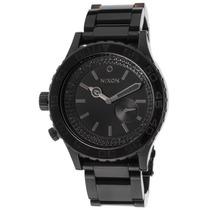Reloj Nixon Es 42-20 Tide Black Ip Stainless Steel Black