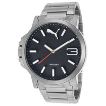 Reloj Puma Pu103461003 Es Ultrasize Stainless Steel Black