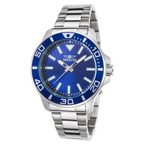 Reloj Invicta 21543 Es Pro Diver Stainless Steel Blue Dial