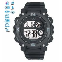 Reloj Q&q Digital Resina Hombre M133-001 Original