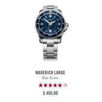 Reloj Victorinox Modelo Maverick Long Blue