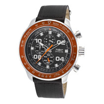 Reloj Invicta 18776syb Es Ltd Ed. Aviator Chrono Black
