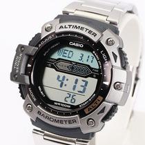 Reloj Casio Sgw 300 Acero Altimetro Barometro Termometro+obq