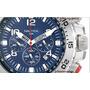 Nautica Reloj N14555g Nst Hombres Manilla Azul Acero Inoxid