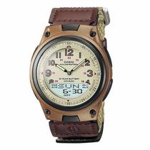 Reloj Casio Aw 80v Velcro 100% Original Envio Gratis Gtia 5