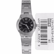 Reloj Casio Para Mujer Ltp 1241 Elegante Pulso En Acero Inox