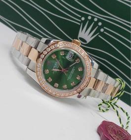 35eec1804462 Relojes Reloj Rolex Datejust Dama Y Hombre Cristal Zafiro