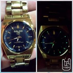 533f12178d0d Reloj Salco 3 Atm Dorado - Joyas y Relojes en Mercado Libre México