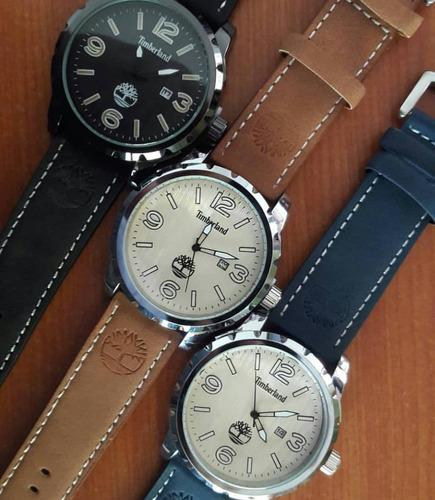 relojes timberland correa de cuero modelos nuevos